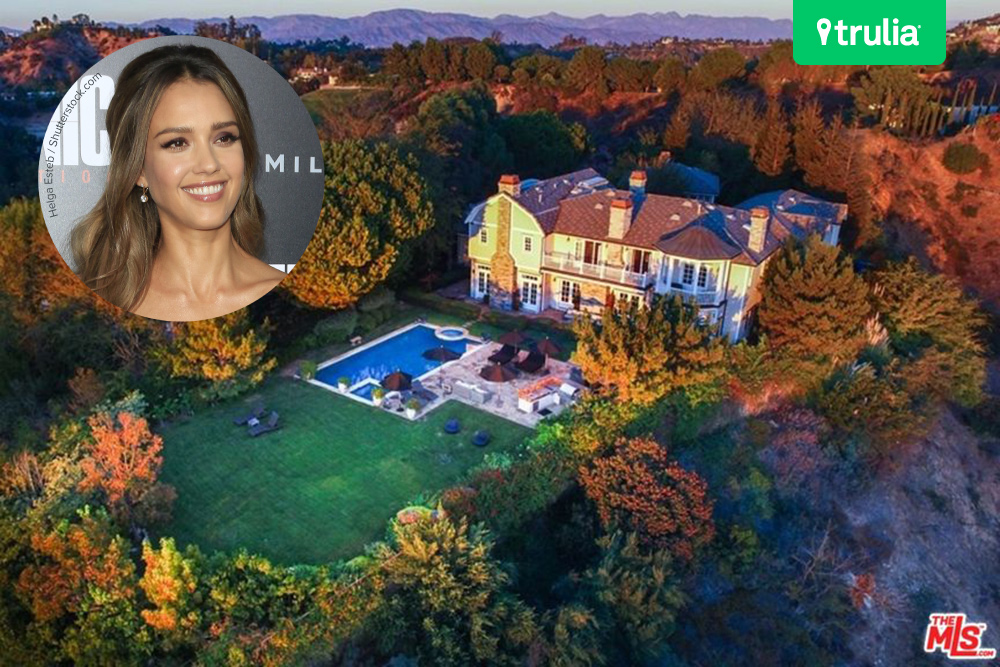 Jessica Alba House Beverly Hills Ca Feature  Honest Million Purchase