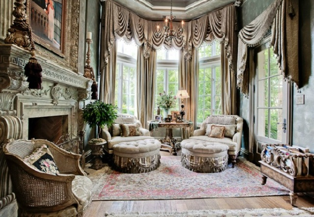 Old world texas estate for 6 3m the trulia blog for Old home interior pictures for sale