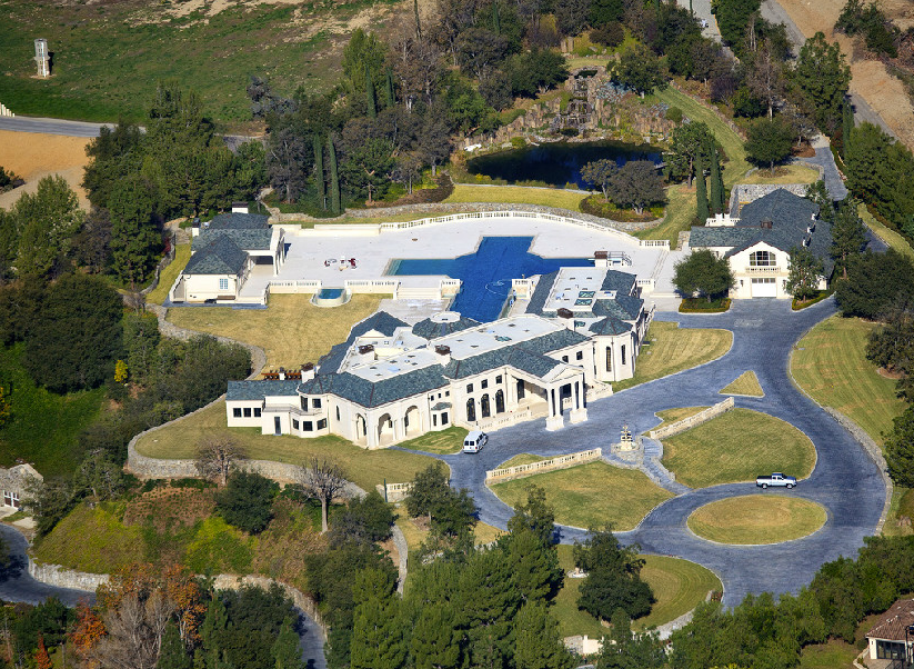 78 million dollar mega mansion hits market in california for Mansion house price