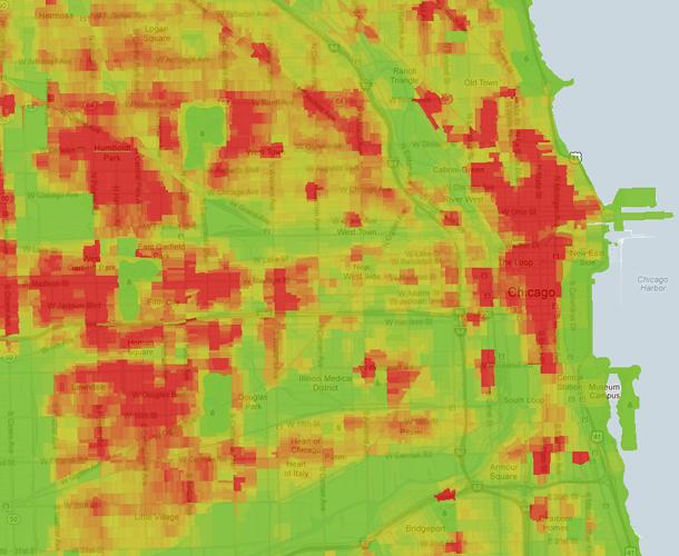 Where Violent Crimes Happen Trulias Blog - Chicago map crime