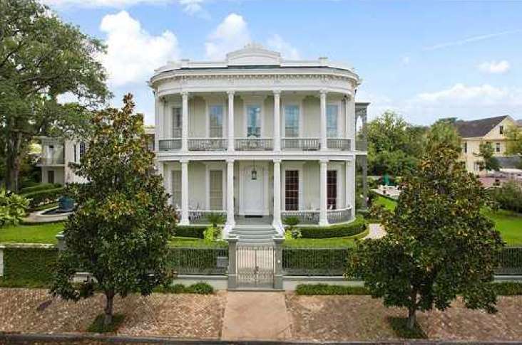 On Fat Tuesday Tour The Finest Estate In New Orleans Trulia