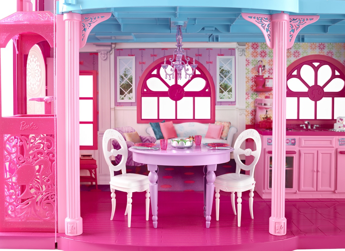 Pictures real barbie dream house
