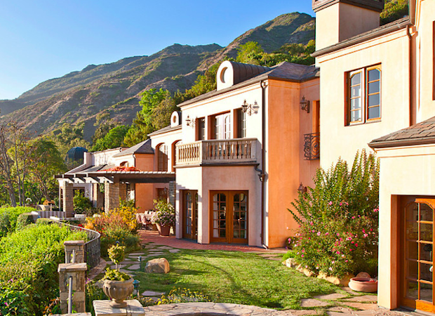 Serra retreat malibu celebrity homes