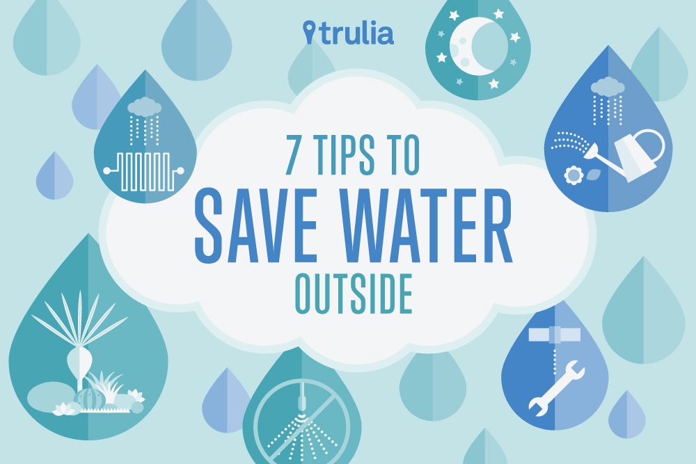 how we can save water