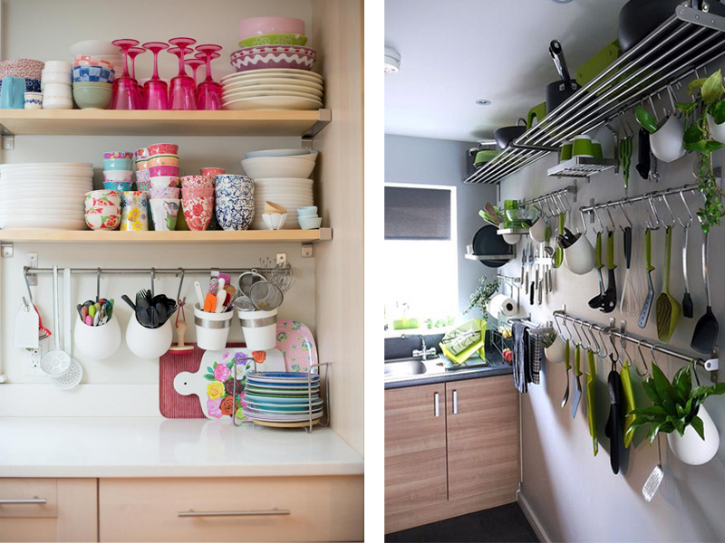 Very Small Kitchen Storage Ideas Part - 22: Uncommon Storage Solutions For Small Kitchens