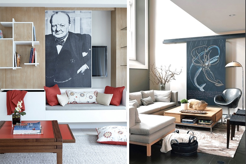 photo on left via eoin lyons interiors photo on right by nat rea