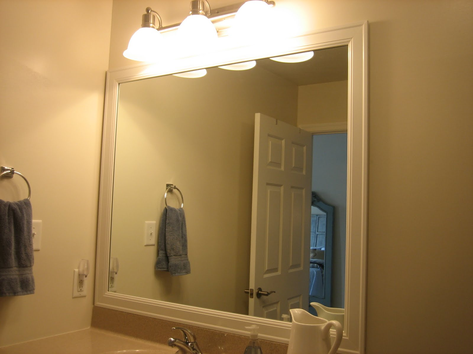 bathroom framed mirrors 9 easy ways to beautify your bathroom on the cheap 10744