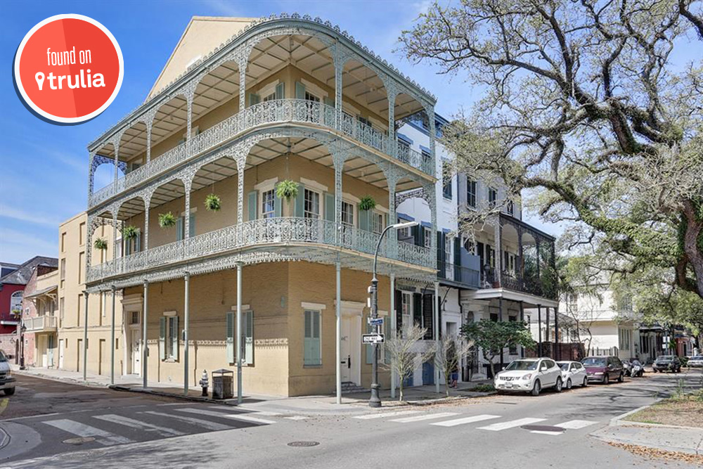 Home For Rent New Orleans French Quarter