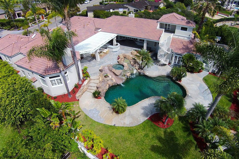 June2015 Trulia 9 Homes For Sale With Epic Water Slides La Jolla