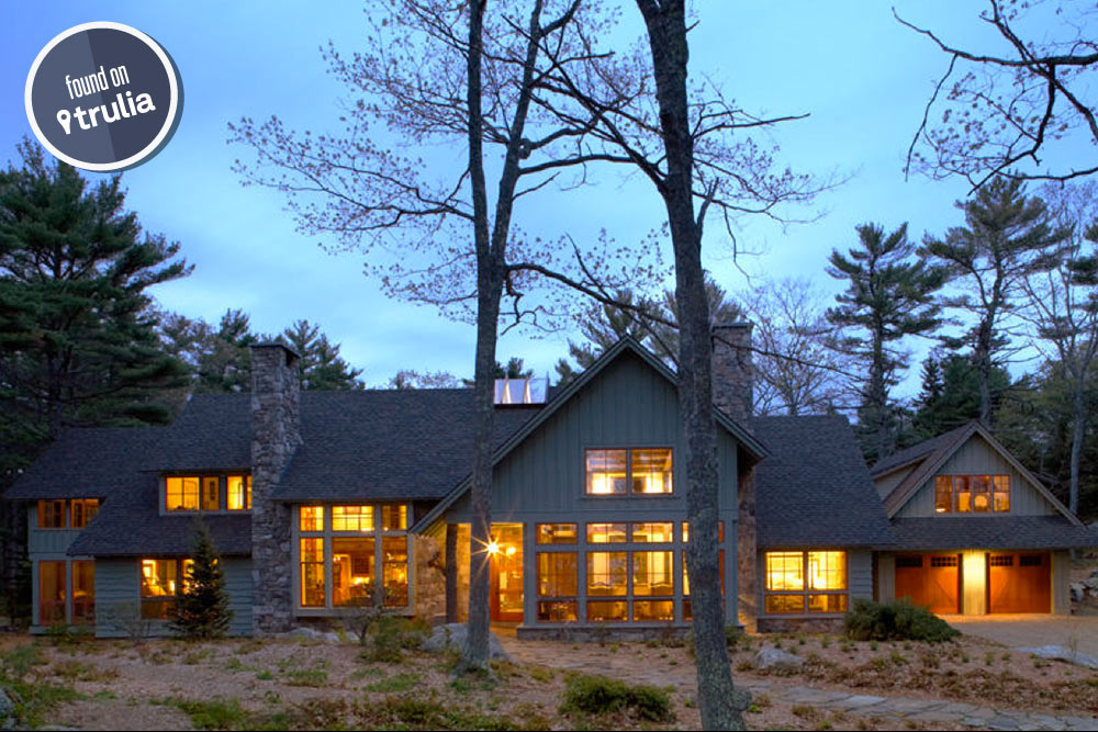 Found on trulia rustic luxury in boothbay harbor trulia for Maine home building packages