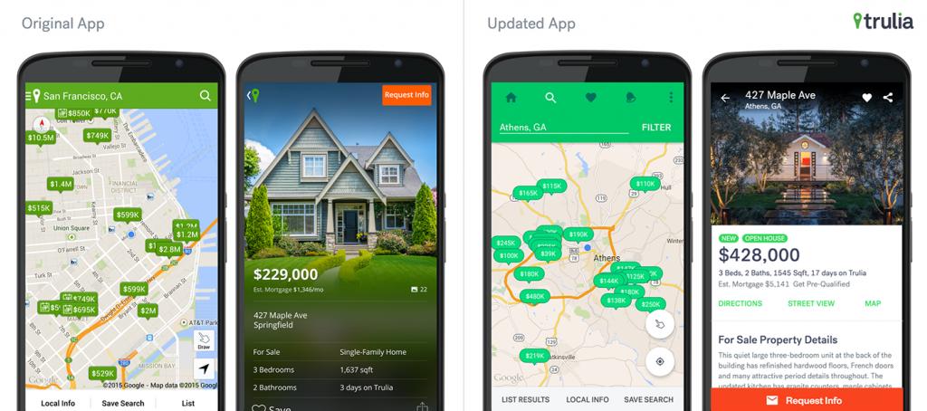 Blending Trulia and Google Design for Easier Home Searching ...