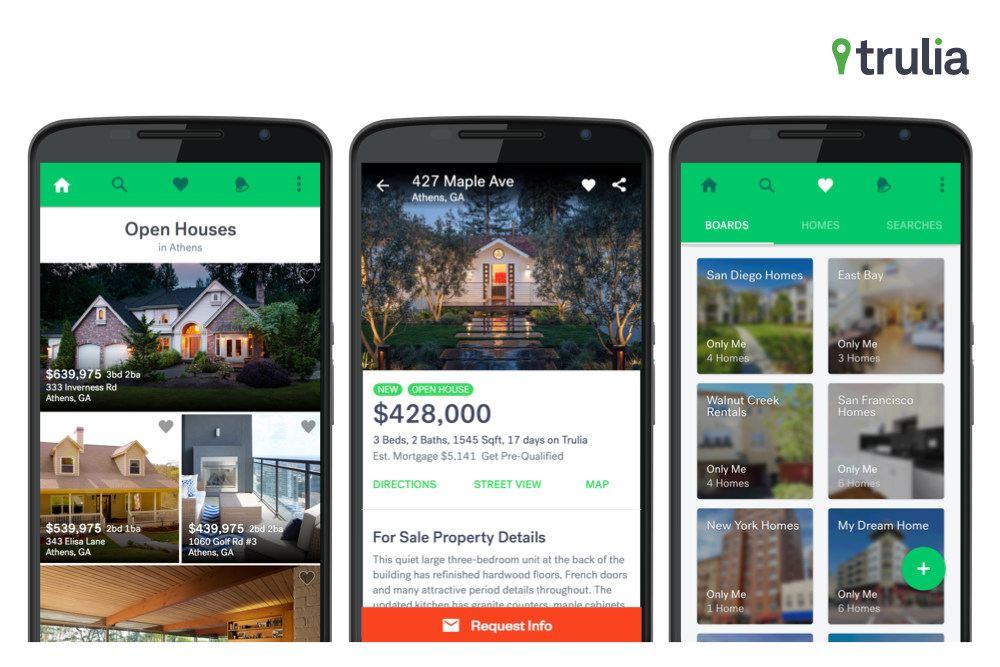 Blending Trulia And Google Design For Easier Home Searching