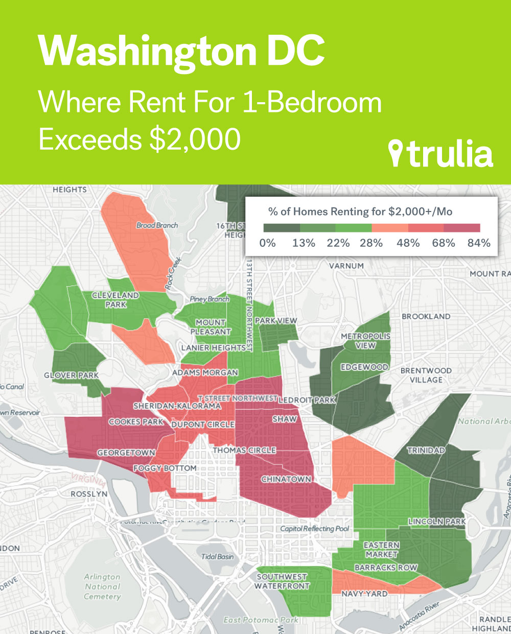 Where Rents Are Too Damn High Trulias Blog