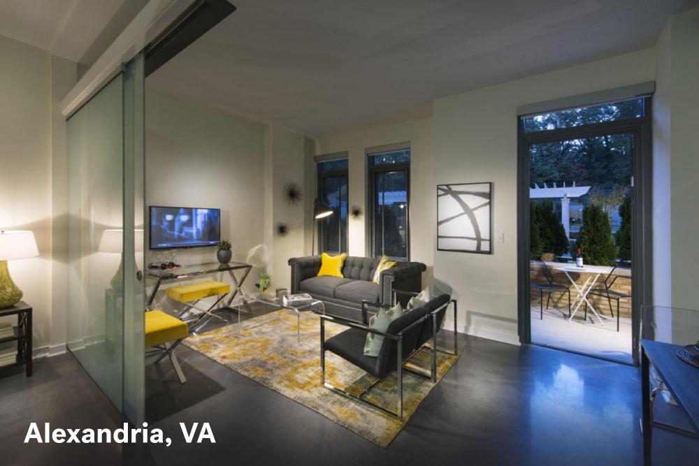 Alexandria Virginia Apartment Interior Design Ideas