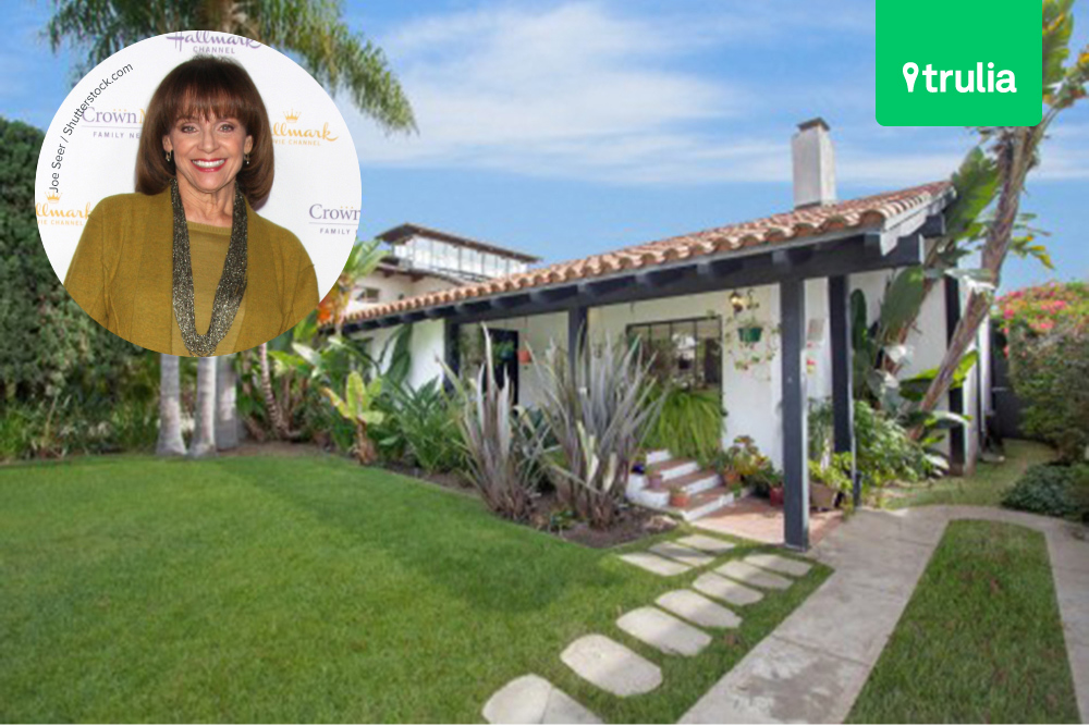 Valerie harper lists her santa monica hacienda for sale for House for sale in santa monica