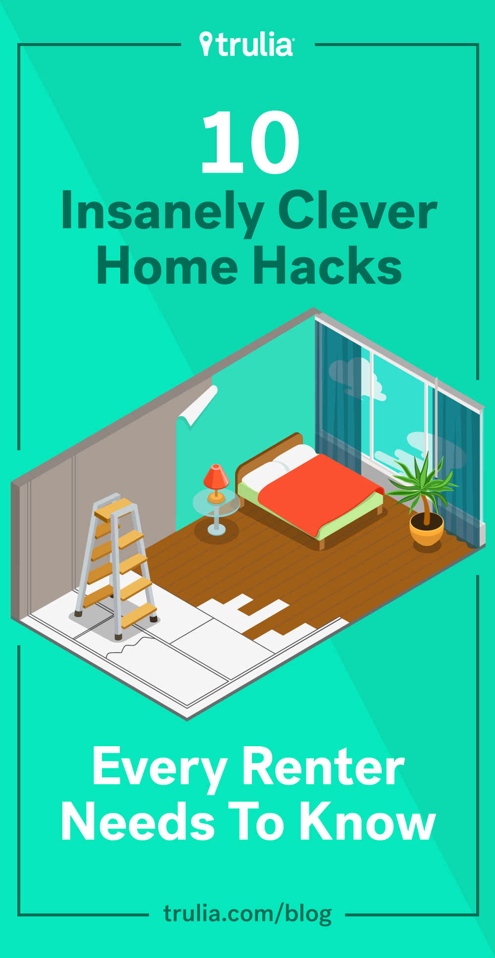 10 clever diy hacks every renter needs to know life at for Household hacks