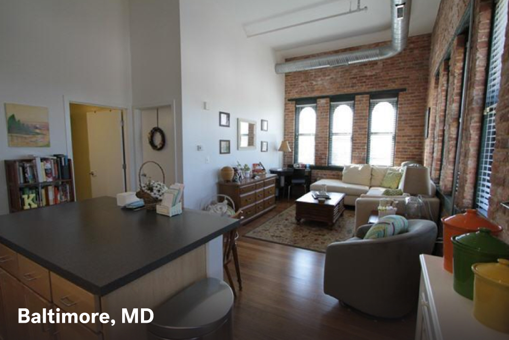 City apartments for rent in Baltimore MD. Big City Apartments For  1 000   Real Estate 101   Trulia Blog