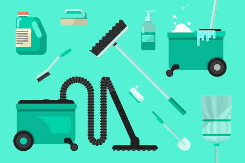 apt cleaning checklist