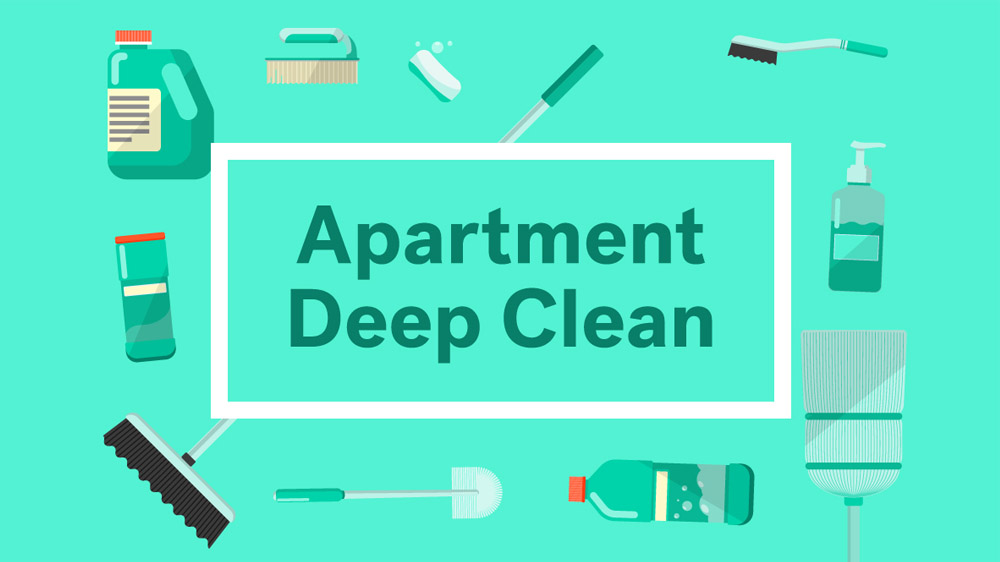 Apt Cleaning Checklist: What to Clean Before Moving into Your New ...