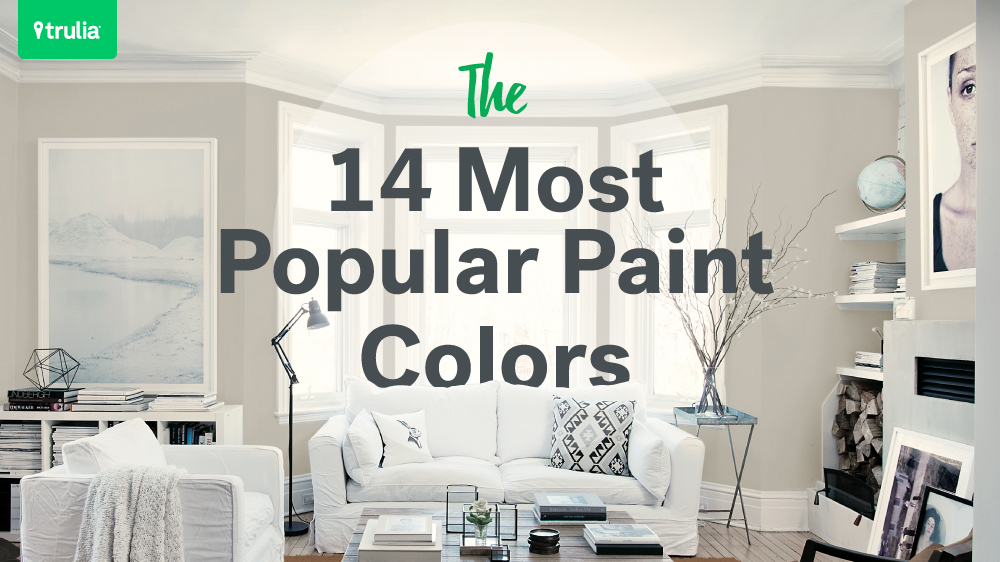 Paint Colors For Living Room Walls 14 popular paint colors for small rooms – life at home – trulia blog