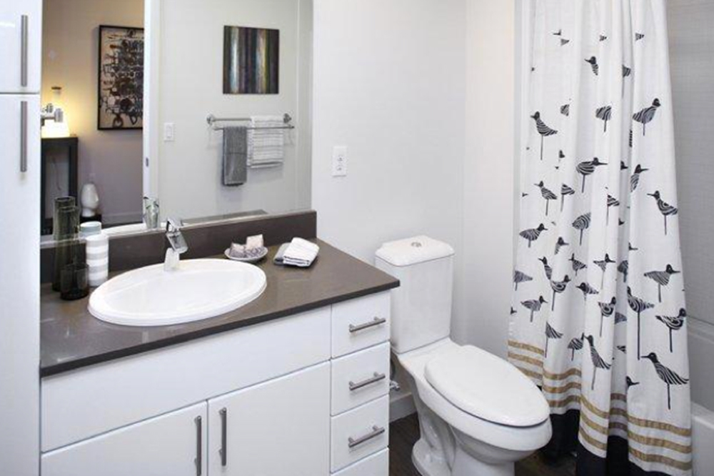 bathroom makeovers for 100 at home trulia 10112