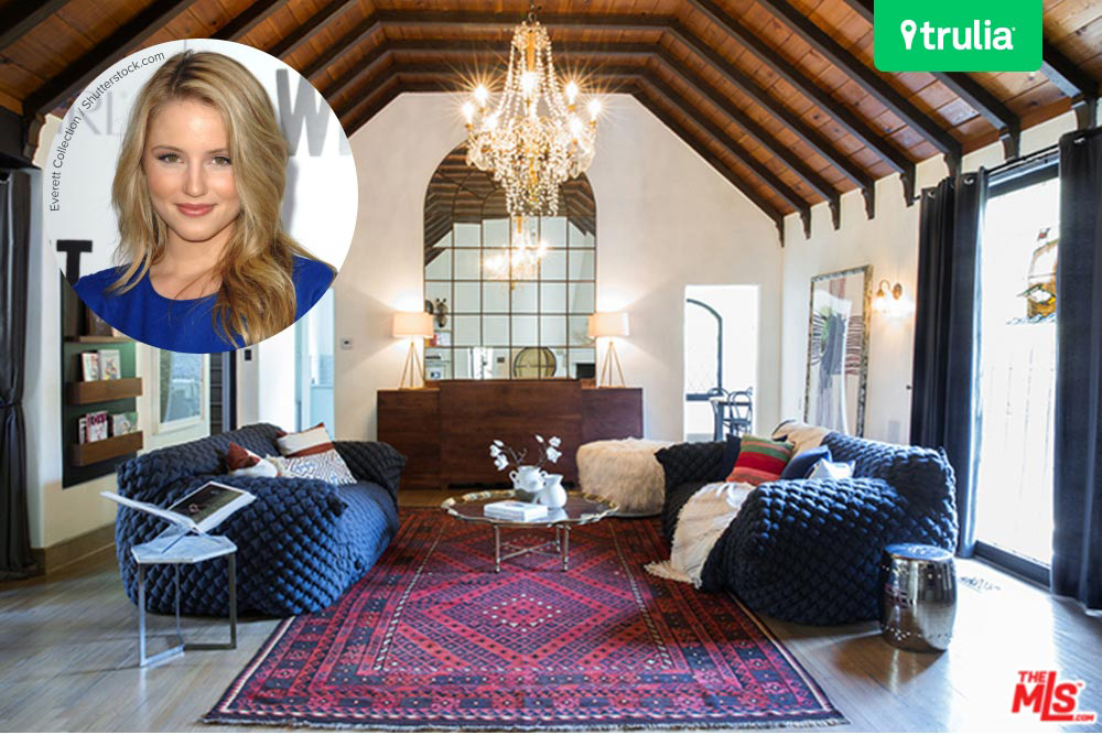 The dianna agron house in los angeles hits the market for Hollywood house for sale