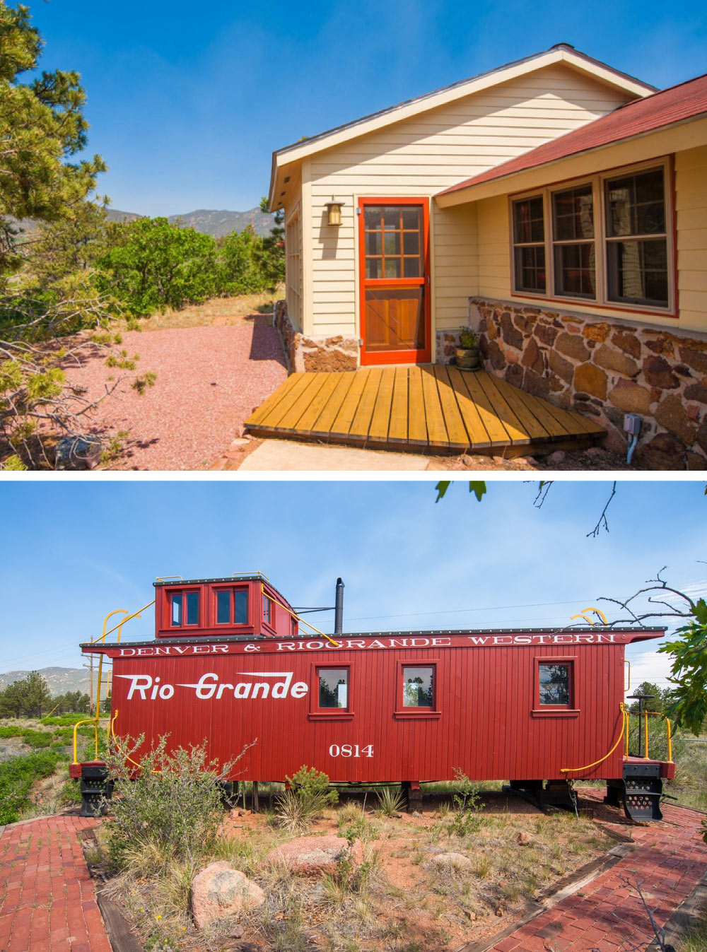 8 homes with converted train cars for sale life at home trulia blog. Black Bedroom Furniture Sets. Home Design Ideas