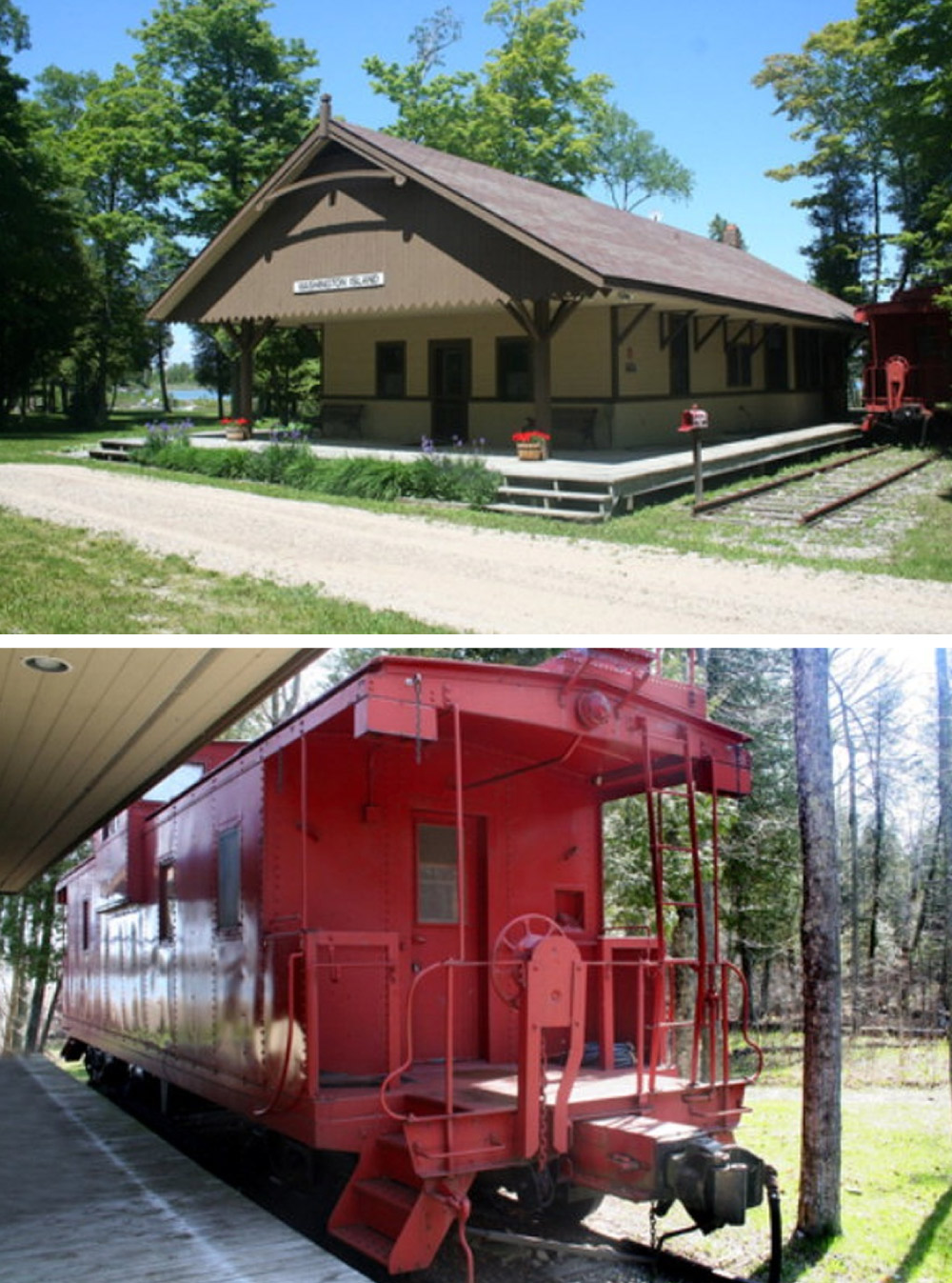 8 homes with converted train cars for sale life at home for Cost to build a house in wisconsin