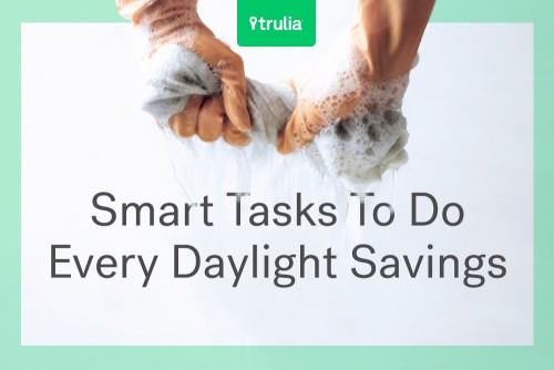 tasks for every daylight savings time change