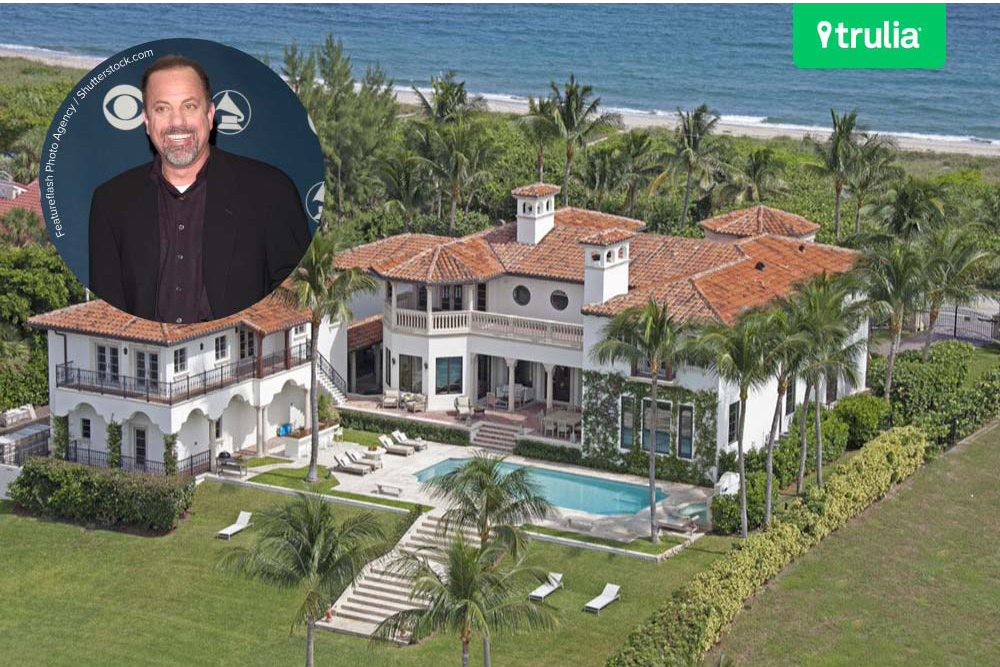 Billy joel movin 39 out of florida by listing his manalapan for Celebrity houses in florida