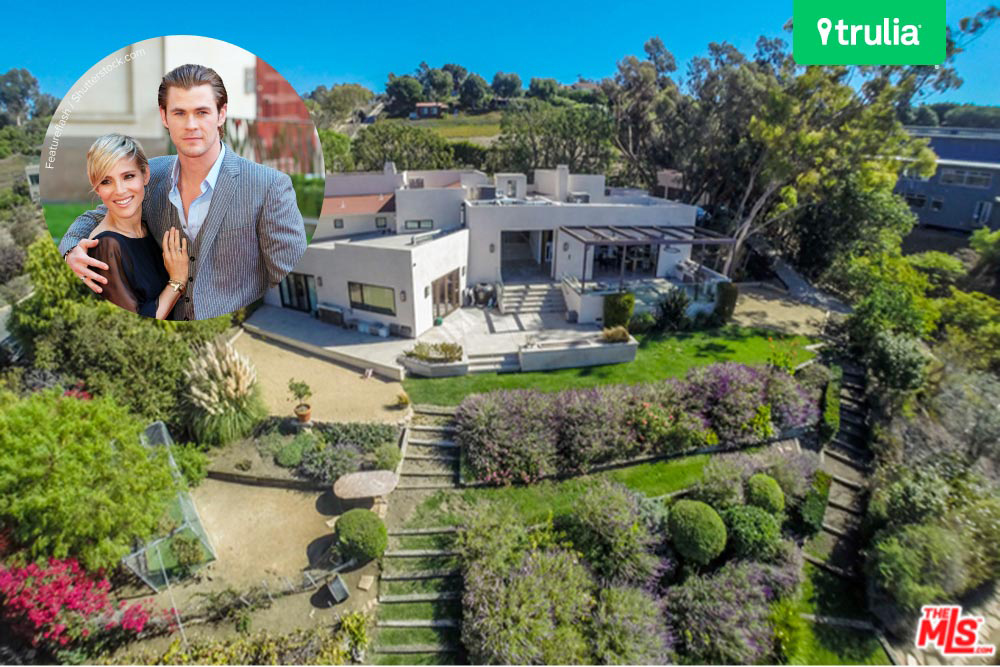 Chris Hemsworth And Elsa Pataky But House In Malibu