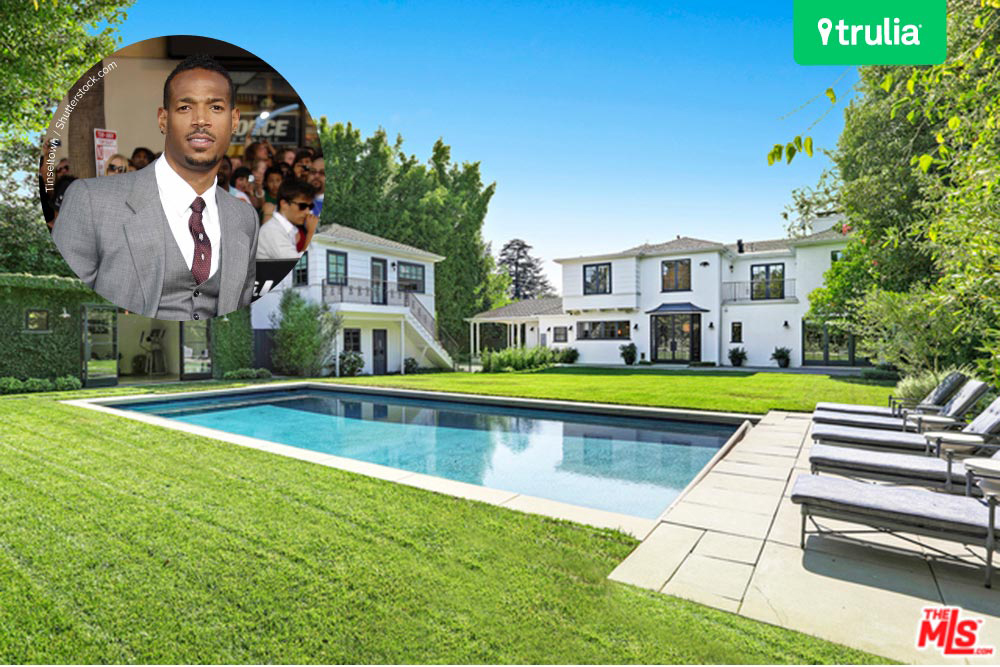 The damon wayans house in los angeles celebrity trulia for House sale los angeles