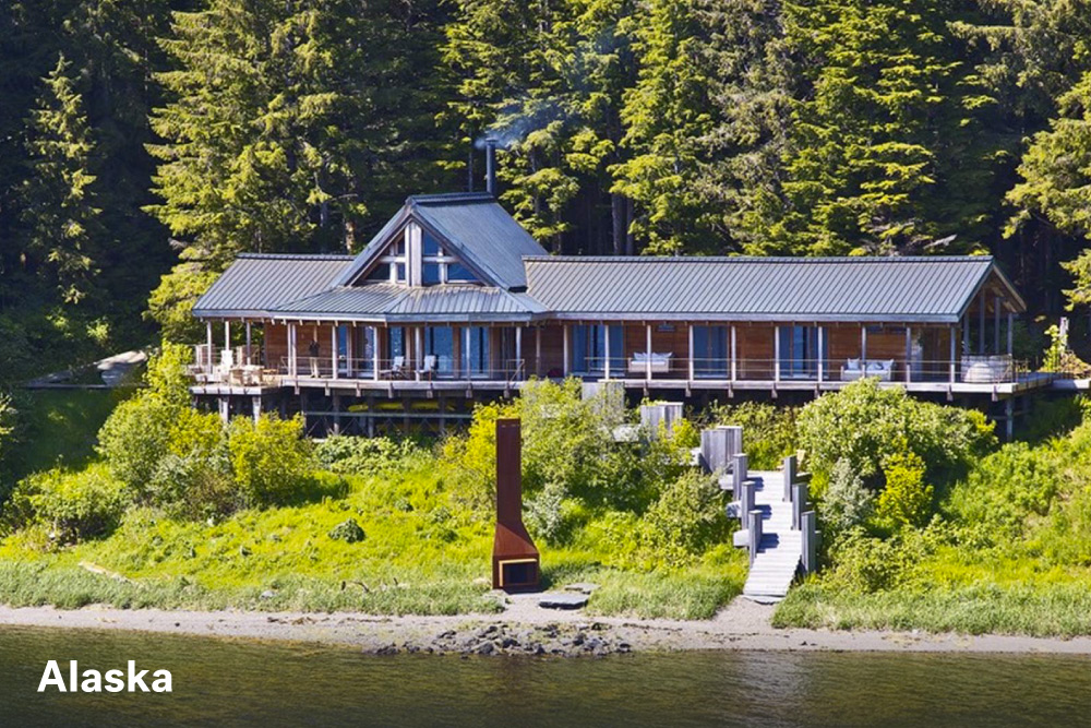 The most expensive homes in the united states life at for Alaska home builders