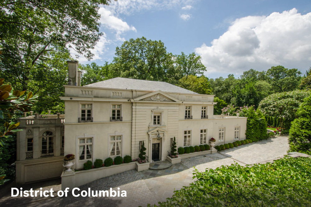 most expensive homes in DC