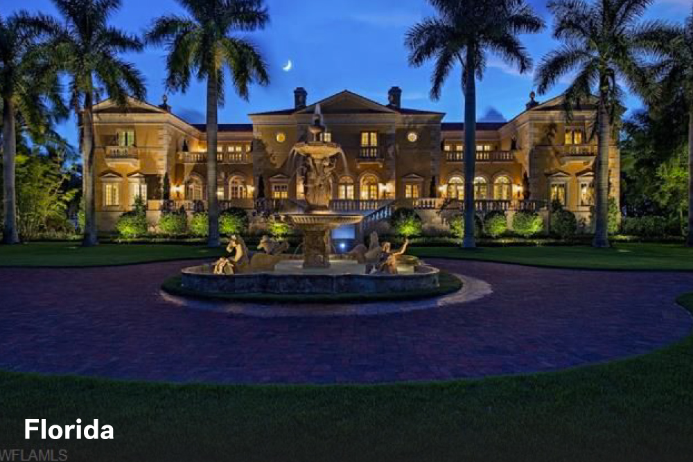 The most expensive homes in the united states life at for Expensive homes in florida