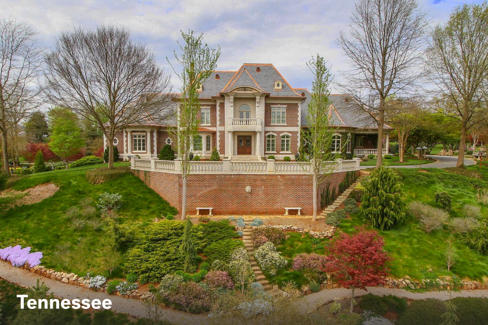 Trend most expensive homes in Tennessee