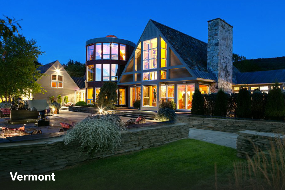The most expensive homes in the united states life at for Home builders in vermont