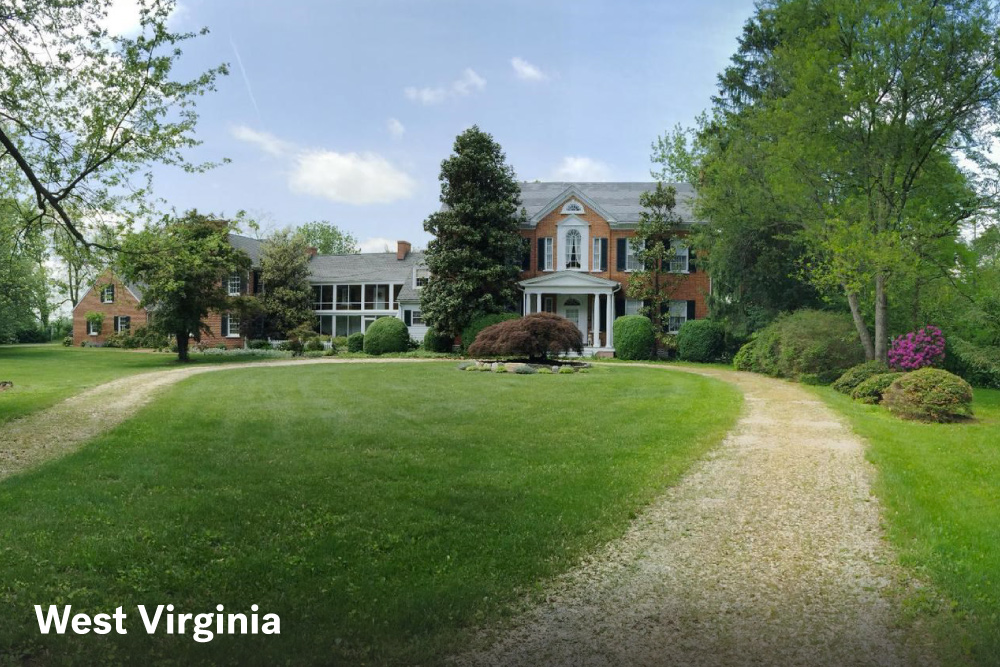 The most expensive homes in the united states life at for West virginia home builders