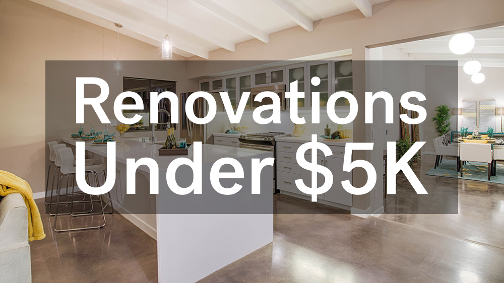 Renovations Under That Add Serious Property Value Life - 5000 bathroom remodel