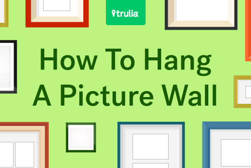 6 gallery wall ideas life at home trulia blog On how to hang 3 different sized pictures on a wall