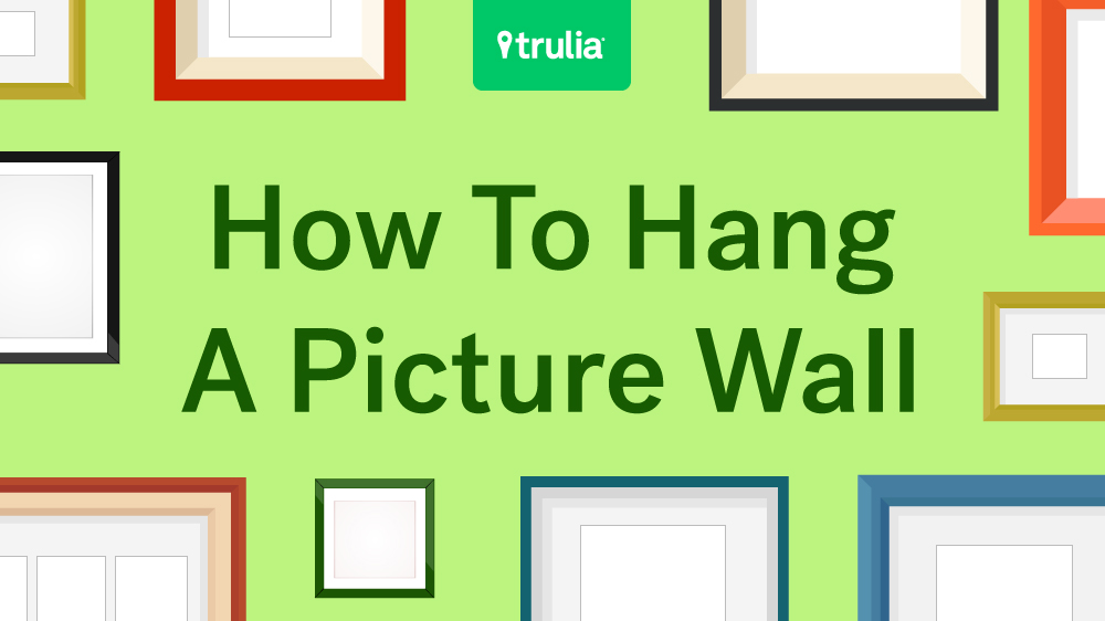 gallery wall ideas - How To Hang Photos