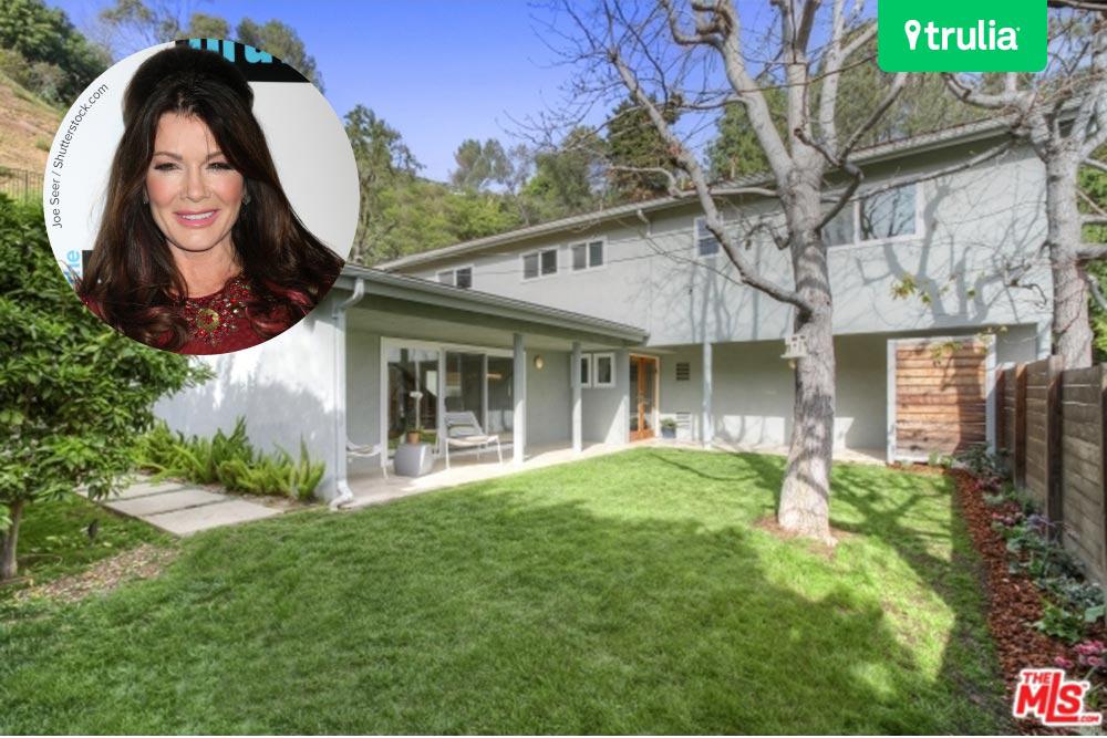 The new lisa vanderpump house in beverly hills celebrity for Beverly hills celebrity homes map