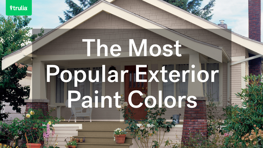 most popular exterior paint colors - Exterior House Colors