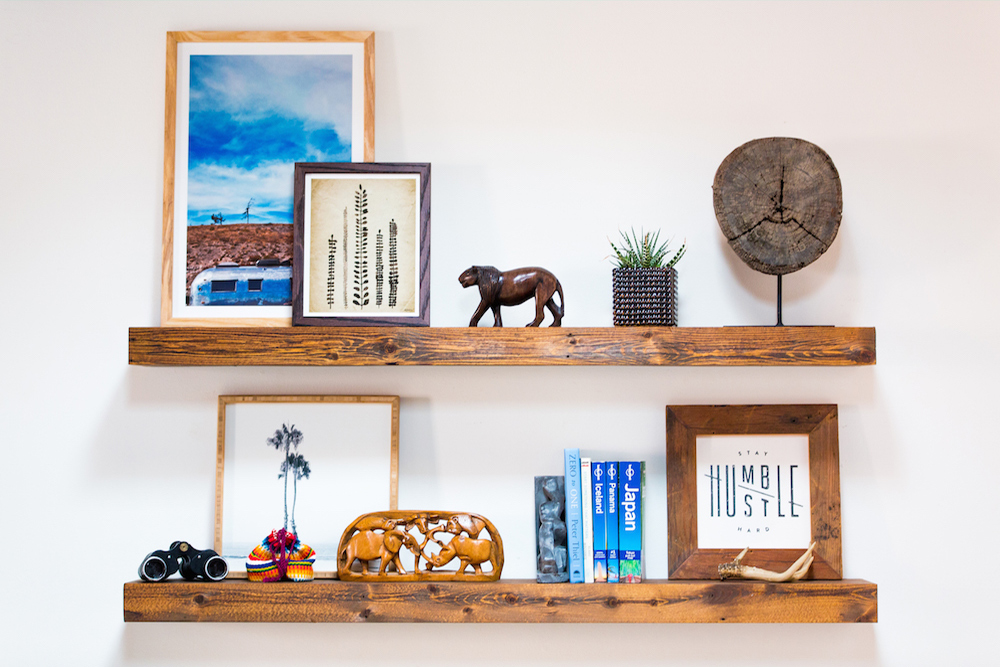 5 shelve your art