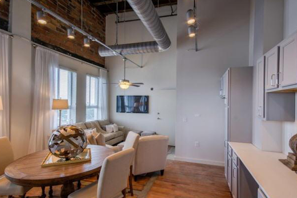 Find An Apartment Steeped In History IndustrialChic Rentals - One bedroom apartments in columbia sc