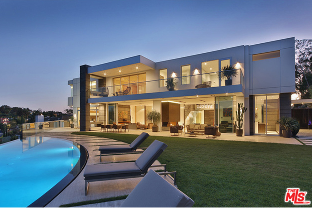 The new l a reid house in los angeles ca celebrity for Luxury homes for sale la