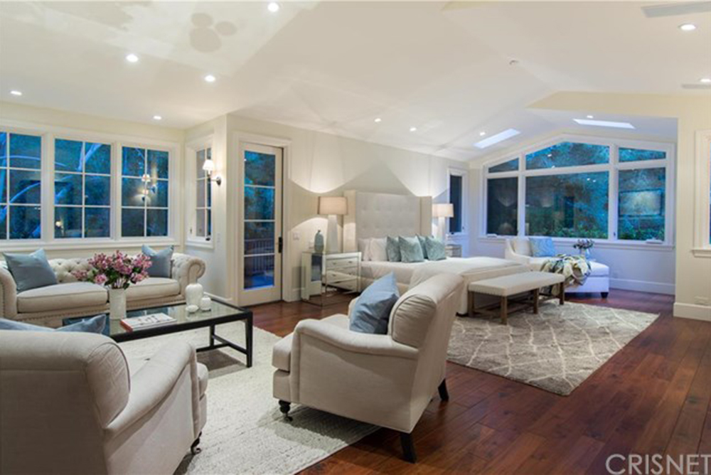 Pete sampras and bridgette wilson sampras list their los for 2 master bedroom homes for sale