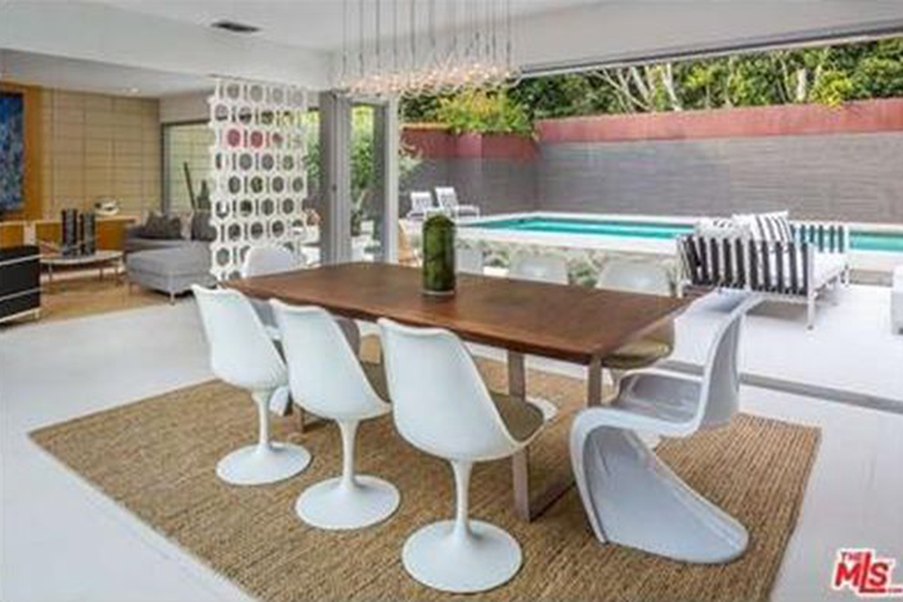 James dornan buys house in hollywood hills ca celebrity trulia blog - Rent dining room table ...