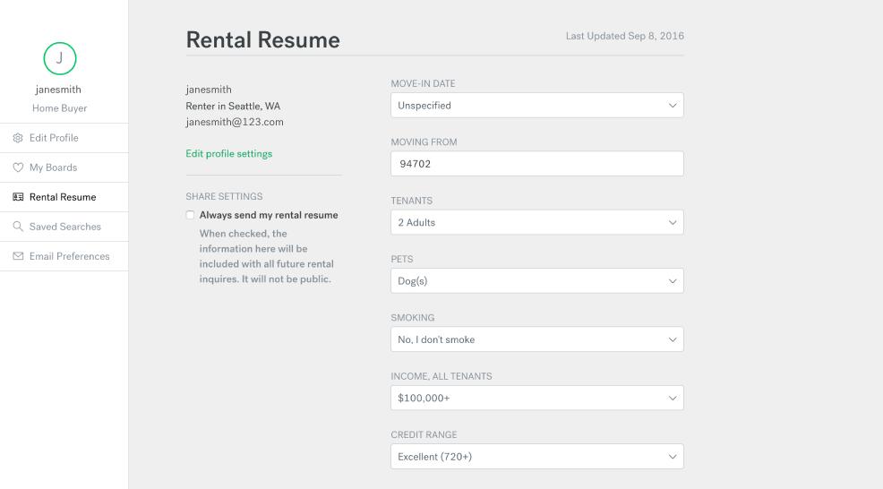 RentalResume_Screenshots_02  Fill Out Resume