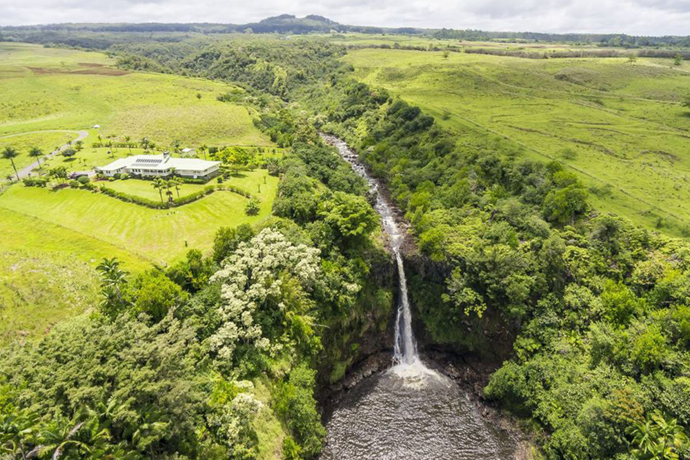 Homes For Sale With Natural Waterfalls
